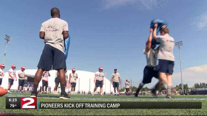 Pioneers excited to get training camp going