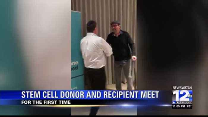 Ashland cancer survivor meets donor for the first time