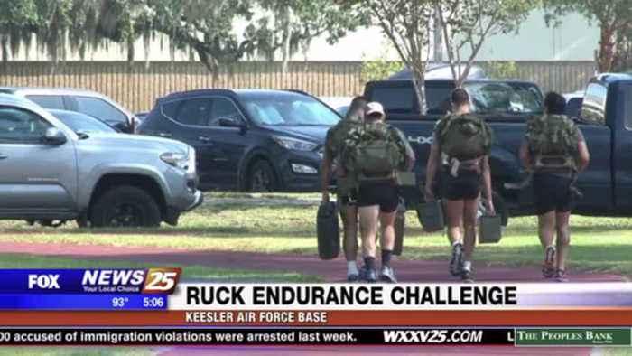 Ruck Endurance Challenge at Keesler Air Force Base
