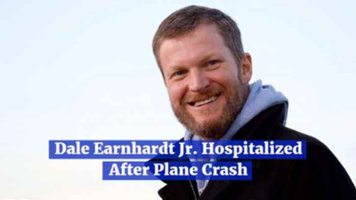 Dale Earnhardt Jr Survives A Plane Crash