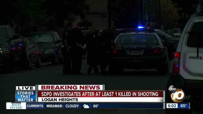 1 dead, 1 injured in shooting at Logan Heights house party