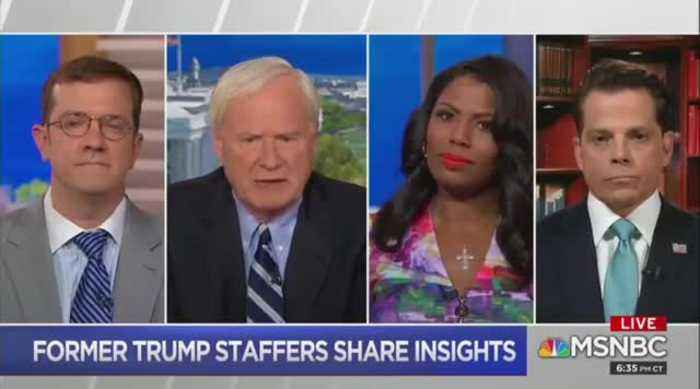 Scaramucci and Omarosa bash Trump in MSNBC appearnce