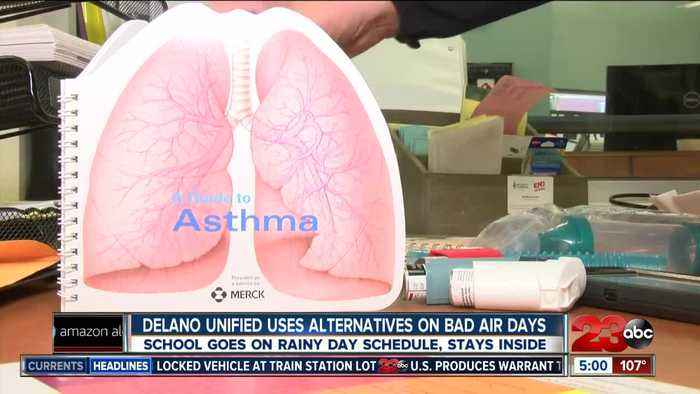 Local School Districts Modify outdoor activity due to unhealthy air quality