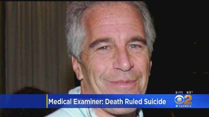 NYC Medical Examiner: Epstein's Death Ruled Suicide By Hanging