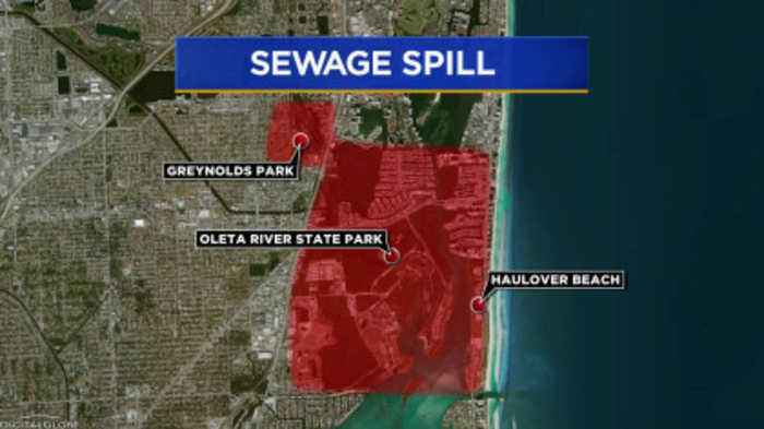 Miami-Dade Sewage Leak Still Not Fixed, Over 1,000,000 Gallons Spilled So Far