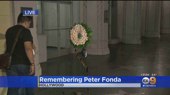 Friends, Fans Remember 'Easy Rider' Actor Peter Fonda