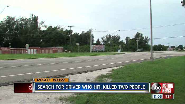 Search for driver involved in hit and run