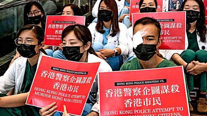 Hong Kong protests: Generation gap on the streets