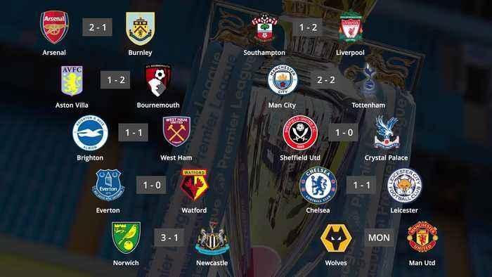 Premier League round up