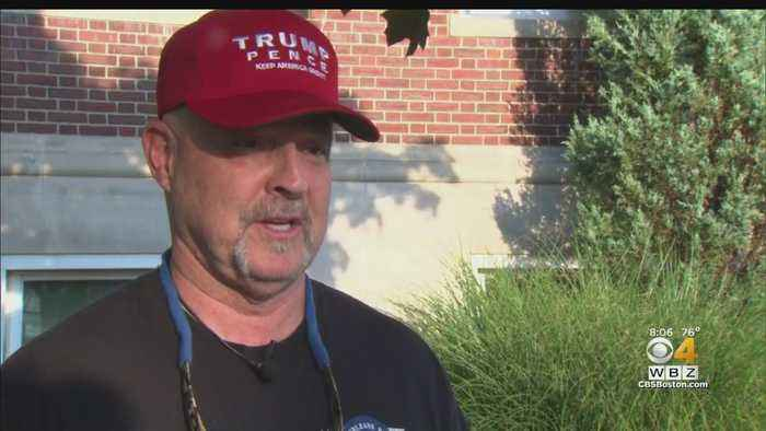 Woburn Trump Supporter Says He Was Not Offended After President Mocks His Weight