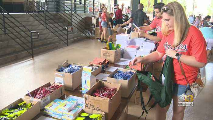 Baltimore City Kids Get Free Backpacks, School Supplies For New School Year From Bank Of America