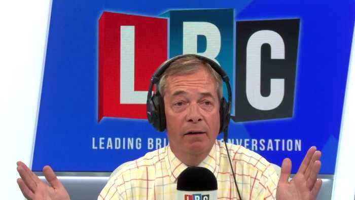 'Are You Deluded?' Nigel Farage's Furious Row With Caller Over No-Deal