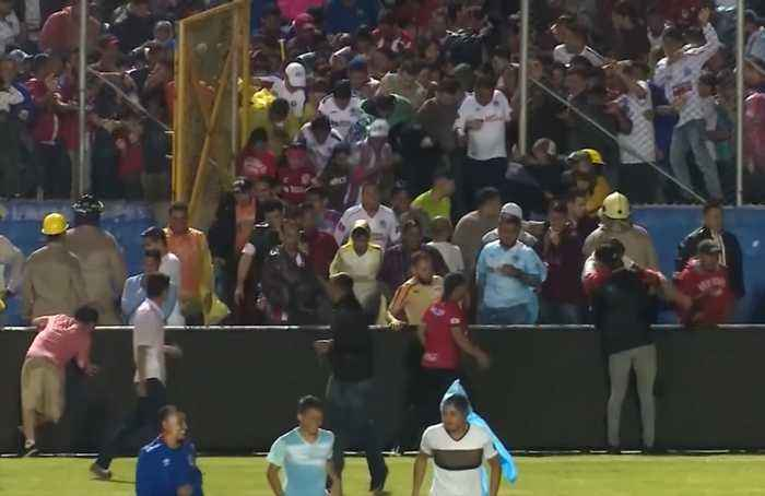 Honduras soccer riot kills three after old grudges boil over