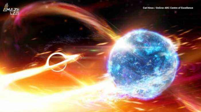 Scientists Detect a Black Hole Swallowing a Neutron Star For First Time