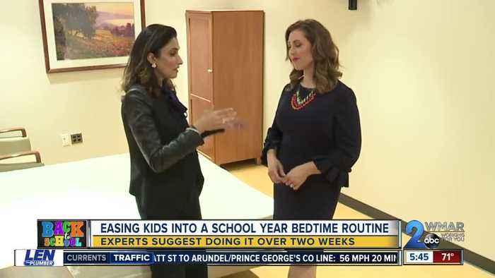 BACK 2 SCHOOL: Easing kids into a school year bedtime routine