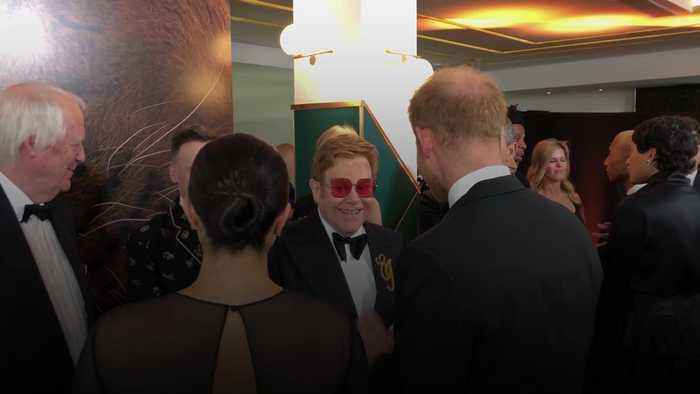 Sir Elton John defends Harry and Meghan over private jet use