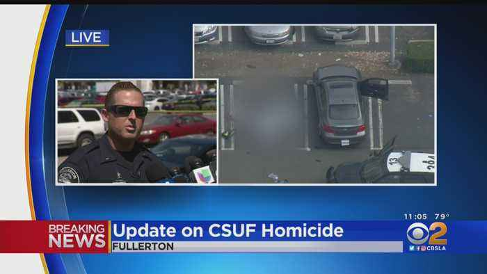 Fullerton Police: CSUF Faculty Member Stabbed To Death, No Active Threat At This Time