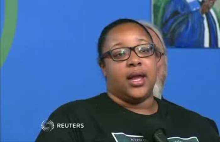 Eric Garner's daughter thanks NYPD for firing officer