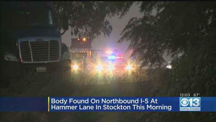 Body Found At NB I-5 In Stockton