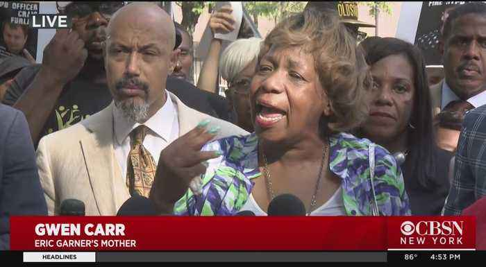 Eric Garner Aftermath: Mother Gwen Carr, Other Supporters Rally After Firing Of Daniel Pantaleo
