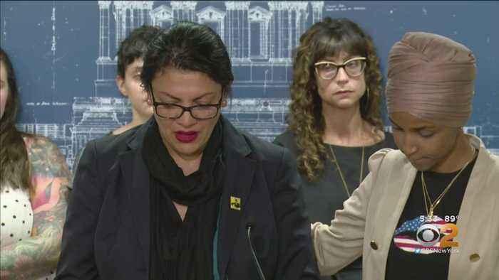 Reps. Rashida Tlaib, Ilhan Omar Discuss Scrapped Trip To Israel