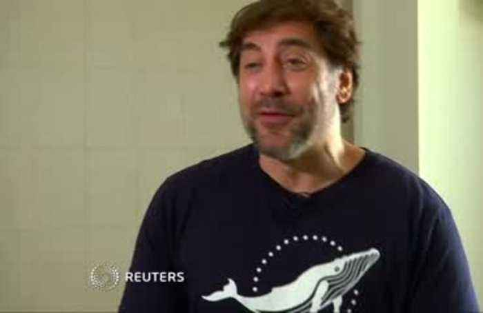 Bardem takes fight to protect oceans to U.N.