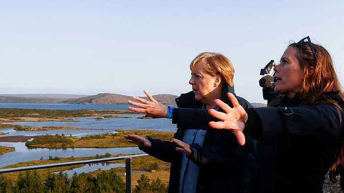 Climate Change top of the agenda as Nordic ministers meet Germany's Merkel in Iceland