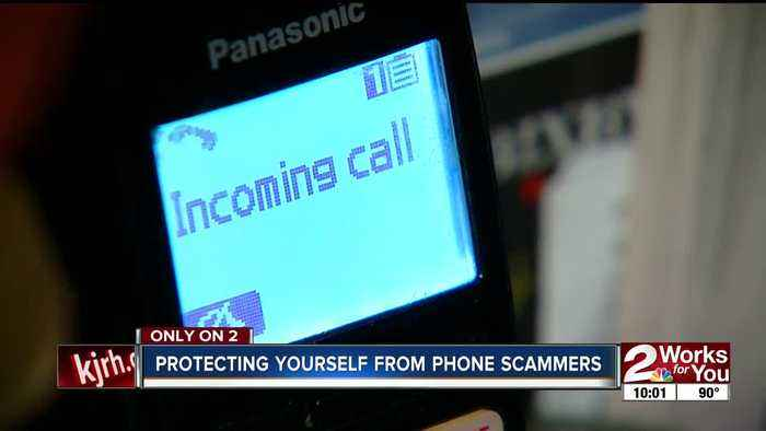Protecting yourself from phone scammers