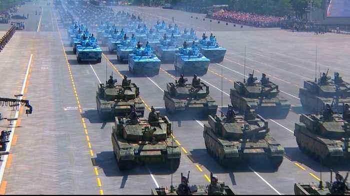 China steps up threats to Hong Kong protesters