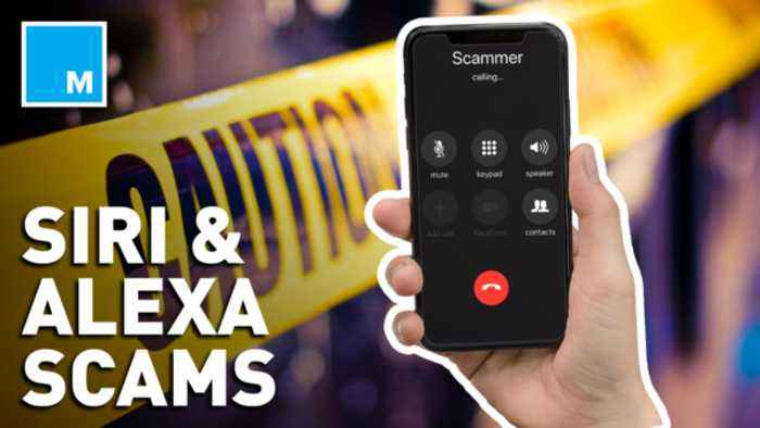 Making calls with Siri or Google could get you scammed