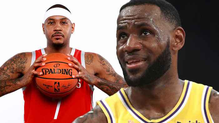 LeBron James SLAMMED For Blackballing His BFF Carmelo Anthony & LETTING Lakers Sign Jared Dudley