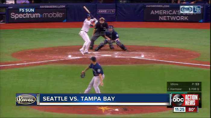 Tom Murphy homers again in Seattle Mariners' 7-4 win over Tampa Bay Rays