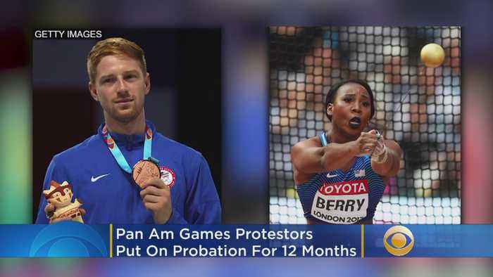Pan Am Games Protesters Put On Probation For 12 Months