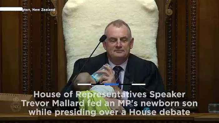 The Right Honourable Baby: MP's newborn fed by parliament speaker