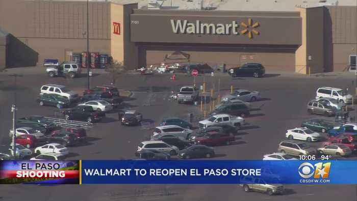 Walmart To Reopen El Paso Store With Memorial