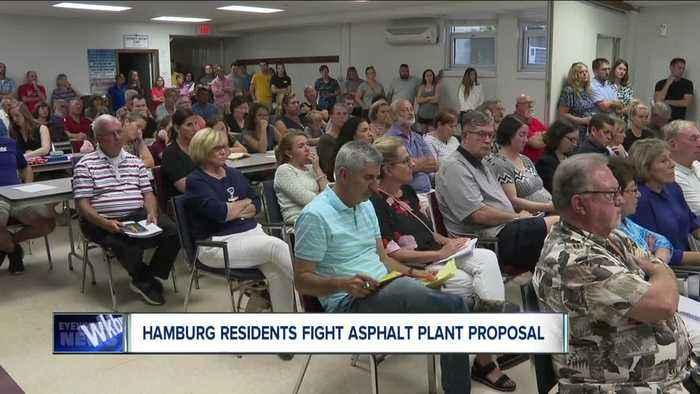 Hamburg residents fighting asphalt plant proposal