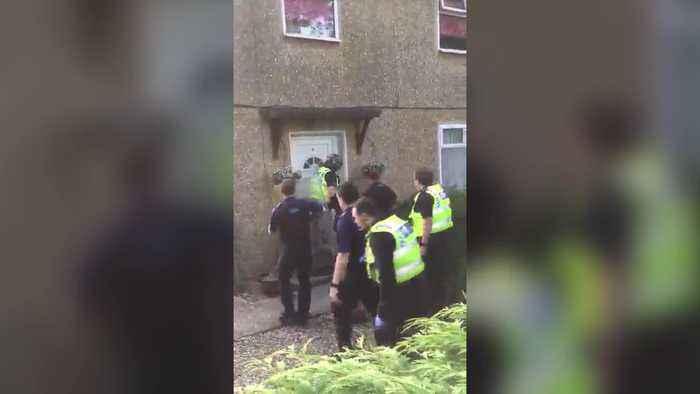 Dawn police raid has smashed a drugs gang