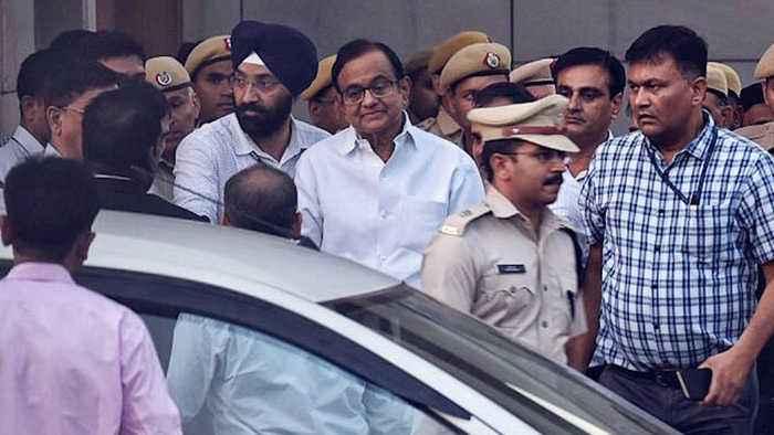 Chidambaram sent to 4 day CBI custody after arrest in INX media case