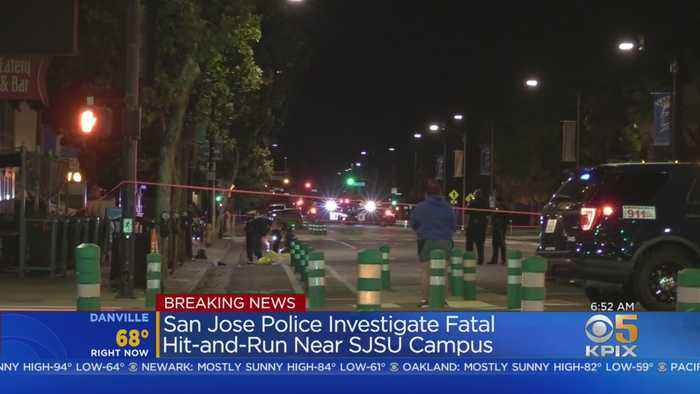 Person Killed In Hit-And-Run Near San Jose State University Campus