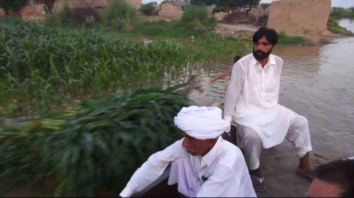 Floods from India dam wreak havoc in northeastern Pakistan