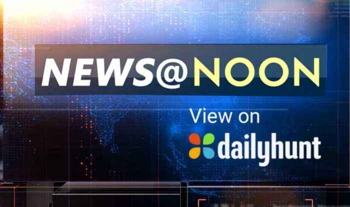 NEWS AT NOON, AUGUST 23rd