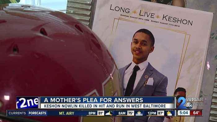 A mother's plea for answers after son was killed in hit and run