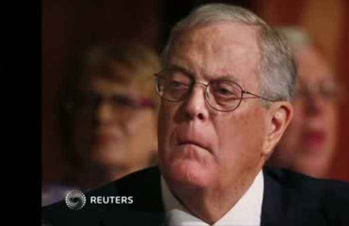 Industrialist David Koch dies, aged 79