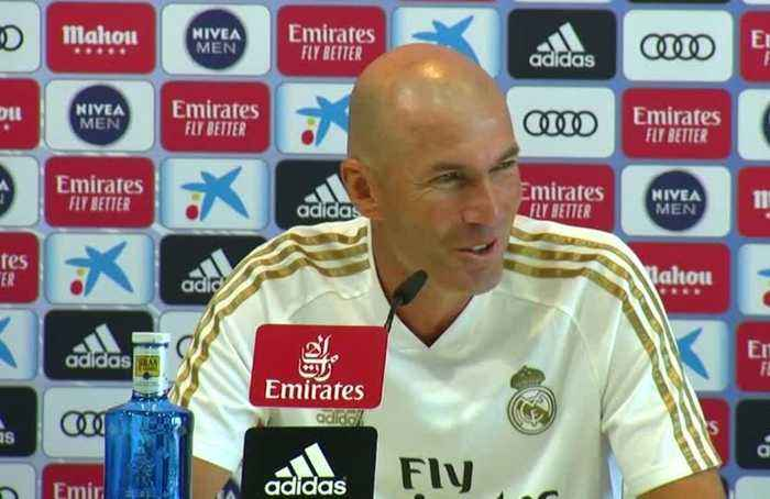 Zidane cannot contemplate goalkeeper Navas leaving Real Madrid