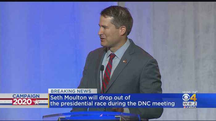 Seth Moulton Will Drop Out Of Presidential Race