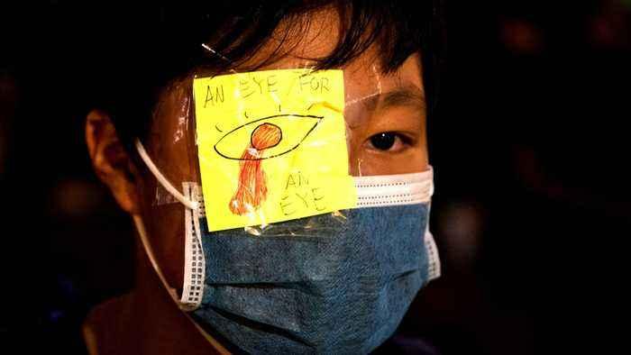 Hong Kong protests: City airport blocks future rallies