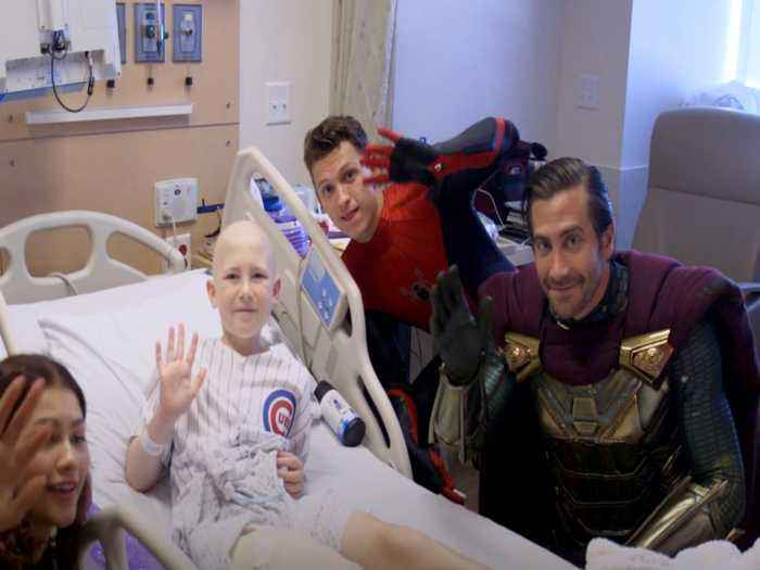 Hollywood hospital visits that warm our heart