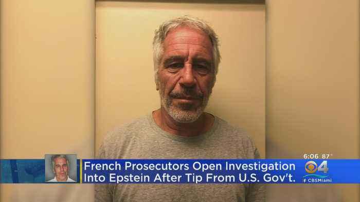 France Opens Jeffrey Epstein Linked Rape Investigation