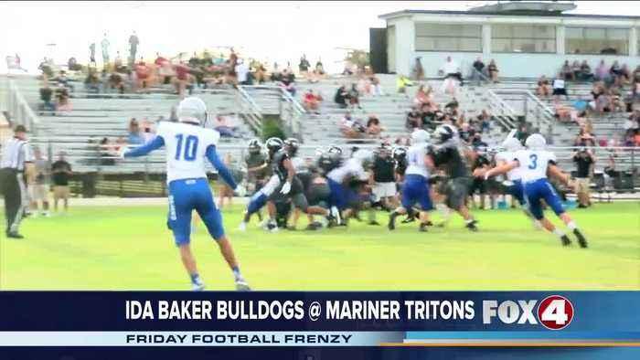 Ida Baker High School Bulldogs at Mariner High School Tritons