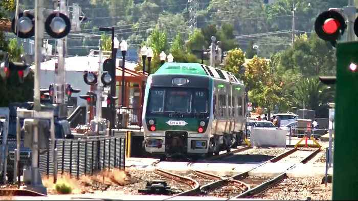 SMART Train Extension to Larkspur Begins Overnight Testing